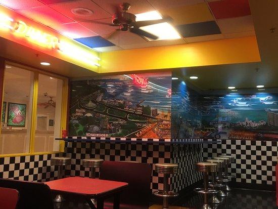 Teddy's Bigger Burgers: 店内の様子