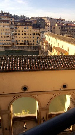 Hotel Hermitage: Roof-top view.