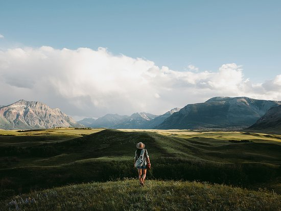 Alberta, Canadá: Outside of Waterton Lakes National Park.