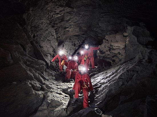 Canadian Rockies, Canada: Canmore Cave Tours.