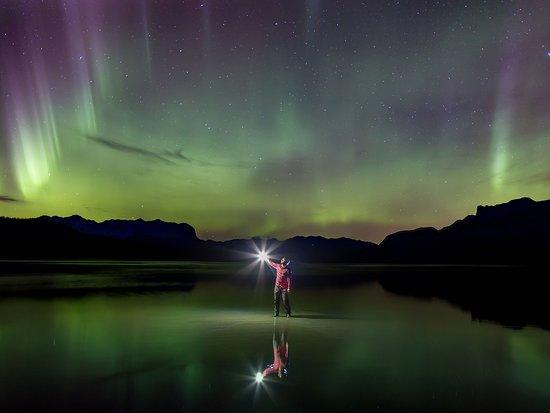 Las Rocosas Canadienses, Canadá: Alberta's northern lights.