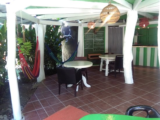 Cocles, Costa Rica: reception and relax zone