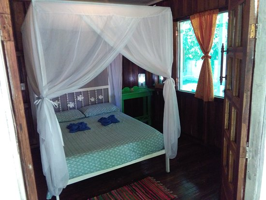 Cocles, Kosta Rika: private room with double bed and shared bathroom