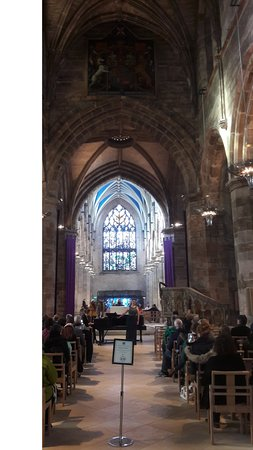 St Giles' Cathedral: Nave central