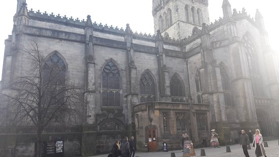 St Giles' Cathedral: St Gilles