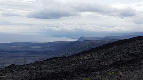 Discover Hawaii Tours: The rift zone on the ocean side of Kilauea