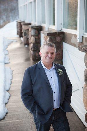 Viamede Resort: Great location for wedding photos.