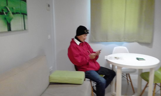 Apartamentos Blume Cruz: el sillon se hace cama