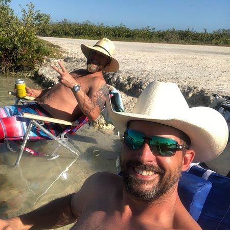 Ramrod Key, FL: I lift boulders, and do tia chi on big pine!