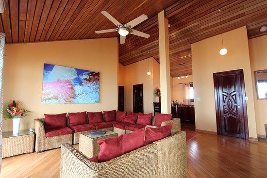 Hotel Palma Royale: Penthouse Living Room