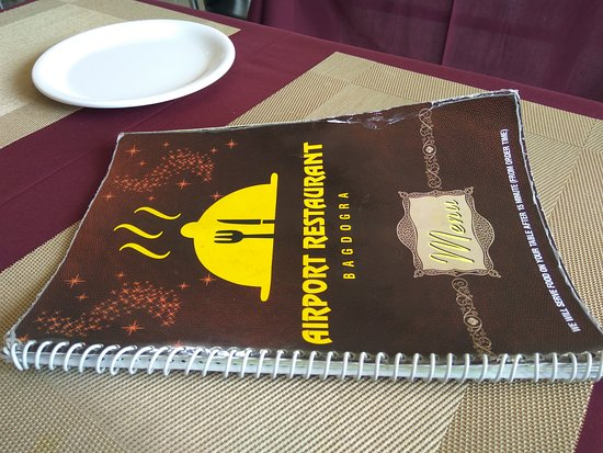 Airport Restaurant: MENU BOOK