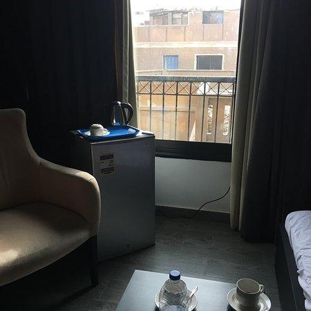 Lokalt hotell nær pyramidene