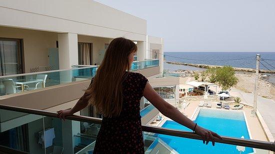 Nautilus Bay Hotel: Pokój nr 21 - idealny widok :)