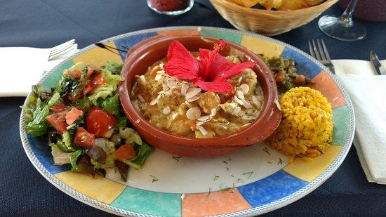 Algarrobo, Spain: Chicken Curry