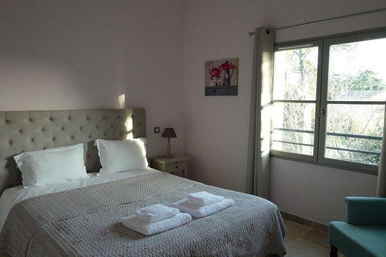 Chateau de la Redorte : guest bedroom 2nd floor
