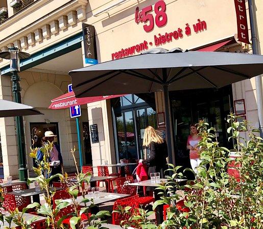 Le Plessis-Robinson, Francia: Le 58, terrasse