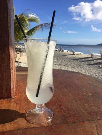 Hideaway Island Resort & Marine Sanctuary: A lemon slushy - perfect after a morning's snorkelling