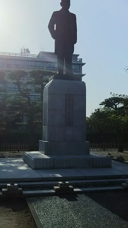 Kishi Seiichi Statue