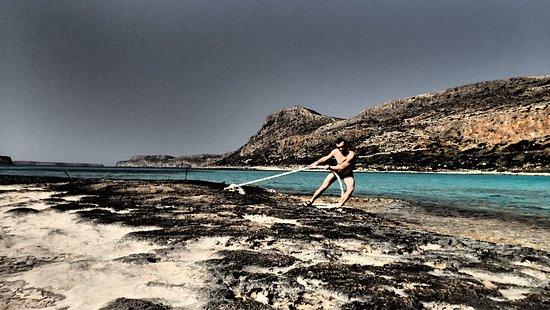 Balos Lagoon: Relax na Balos :)