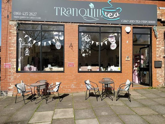 Swinton, UK: TranquiliTea Cake & Tea Emporium