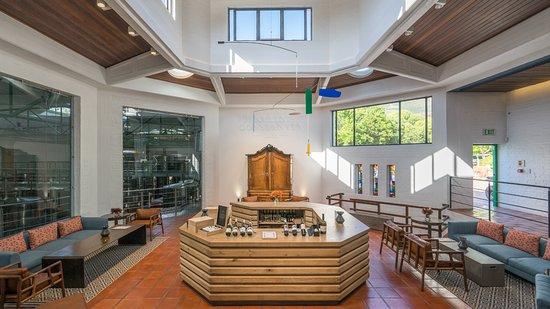 Klein Constantia tasting room