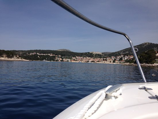 Blue Cave and Hvar 6 Islands full-day Speedboat Tour from Split: Boat Trip