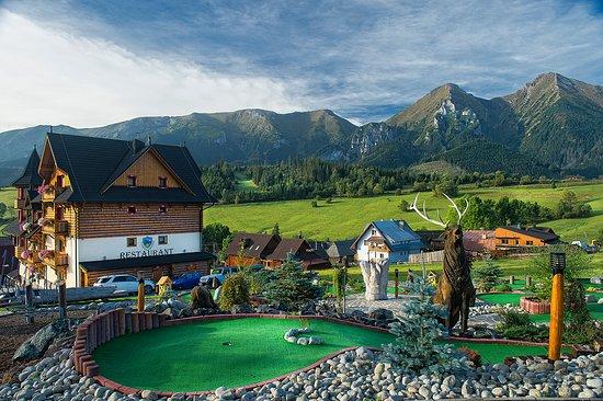 Zdiar, Eslováquia: Adventure minigolf Ždiar