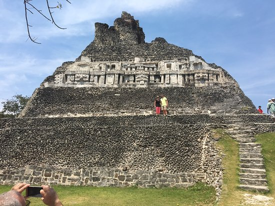 Armenia, Belize: mid way up El Castillo. Photo cred: Augustin