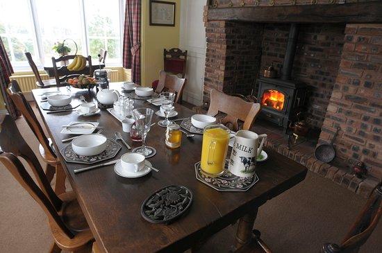 Albrighton, UK: Breakfast Room