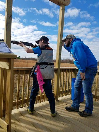 Spencer, TN: Youth clay shooting