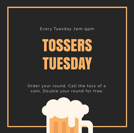 Newent, UK: Tossers Tuesday!