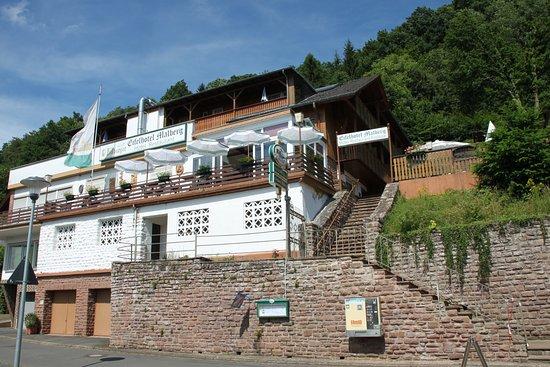 aanzicht van het Eifelhotel Malberg