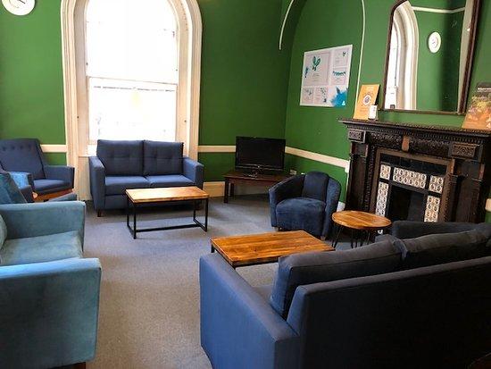 YHA London St Pauls: Lounge area