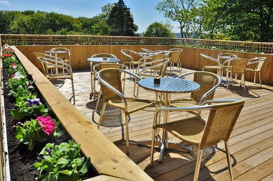 Blubberhouses, UK: Outside Seating