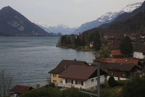 Leissigen, Schweiz: Hotel Kreuz view from room