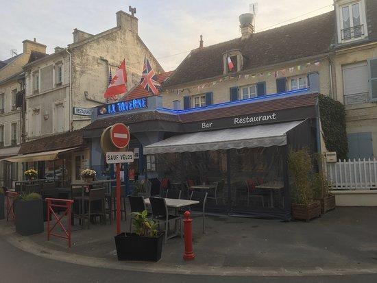Lion-sur-mer, Франция: devanture, restaurant, extérieur, 2018, taverne, restaurant