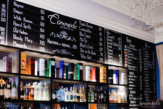 Commode | Club & Self Cost Bar