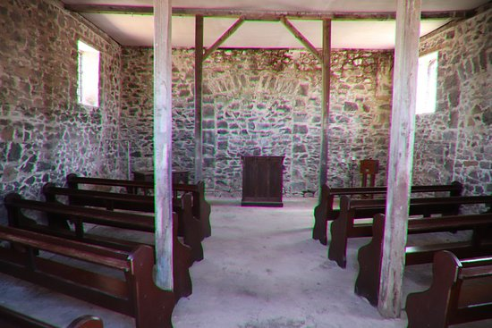 Stanley, Australia: Inside the church