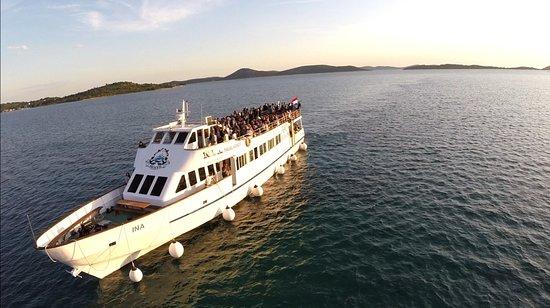 Vodice, Kroatia: Boat Ina