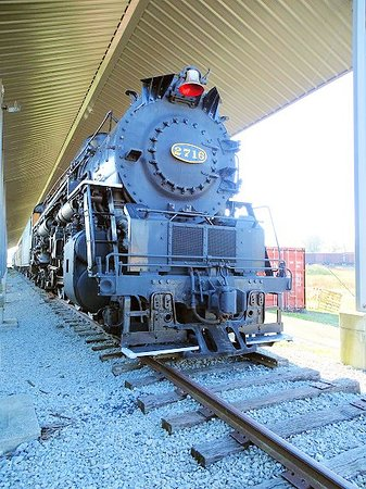 New Haven, KY: steam loco 1943