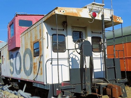 New Haven, KY: party caboose