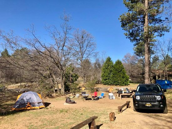 Mount Laguna, Kalifornien: Laguna Campground, site 68