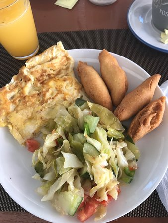 Little Bay, Jamaica: Great different breakfasts every day