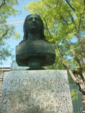 Busto Bonzeo di Giovanni Pico