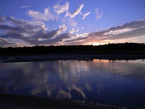 Rachel Carson National Wildlife Refuge: A beautiful sunset