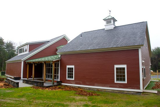 Sudbury, MA: The visitor center at Assabet River National Wildlife Refuge