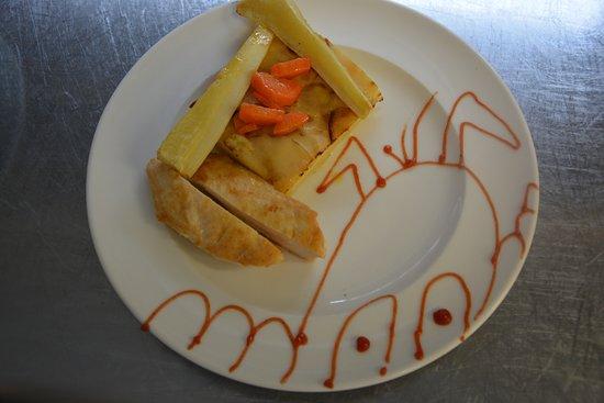 Andrezieux-Boutheon, France: Filet de poulet pour un menu enfant