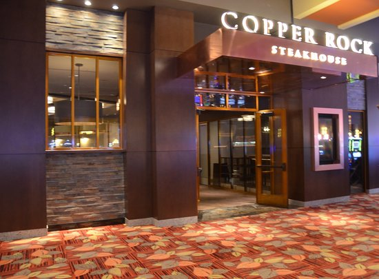 copper rock steakhouse picture of four winds casino south bend rh tripadvisor com