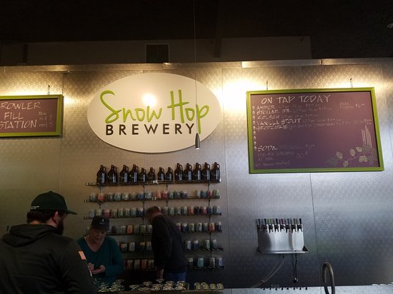 Helena, MT: Snow Hop Brewery