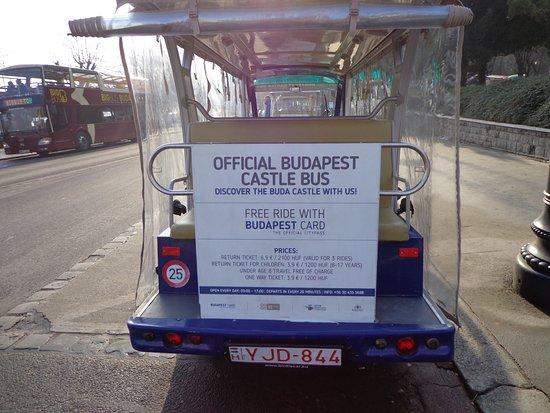 Official Castle Shutlle Bus Budapest